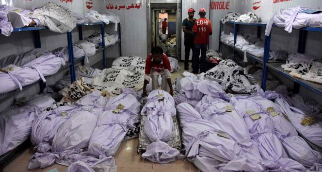 Ölü sayısı 700'e yükseldiaşırı sıcaktan ölümler,Pakistan