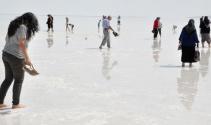 Tuz Gölü'ne ayak sağlığı ziyareti