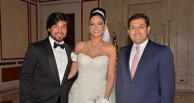 Ünlü futbolcu İbrahim Toraman dünya evine girdi