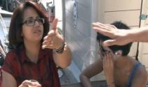 Taksiciden Fransız turistlere biber gazı