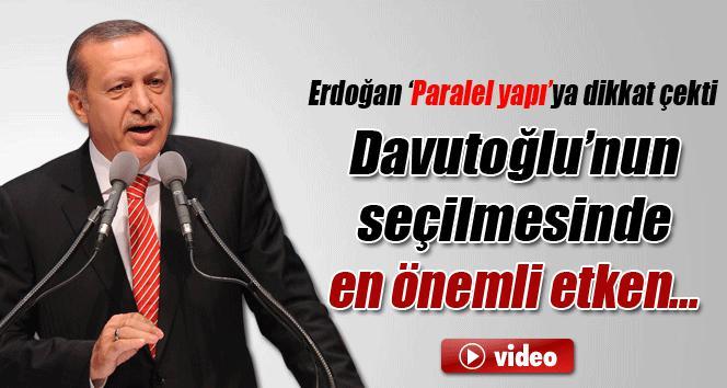 Erdoğan yeni başbakanı açıklıyor