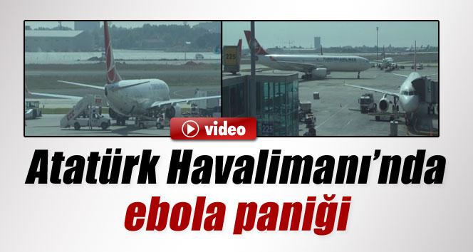Atatürk Havalimanı'nda ebola alarmı