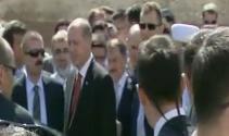 Erdoğan ve Davutoğlu cuma namazını aynı camide kıldı