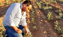 Tarlasına su gelmeyen çiftçi hakkını arıyor