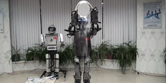 İnsansı robot Akıncı-2 ALS için robotlara meydan okudu