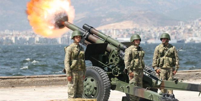 Erdoğan için 101 pare top atışı yapıldı