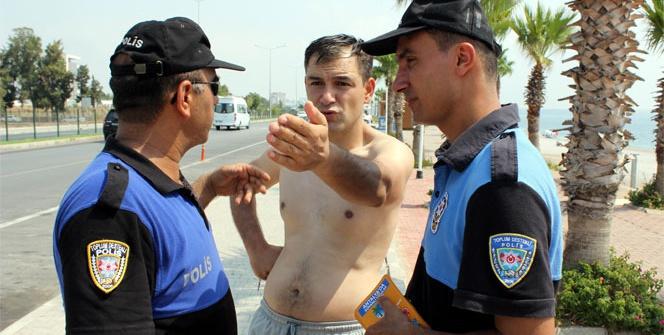 Polisin şaka cezası şok etti