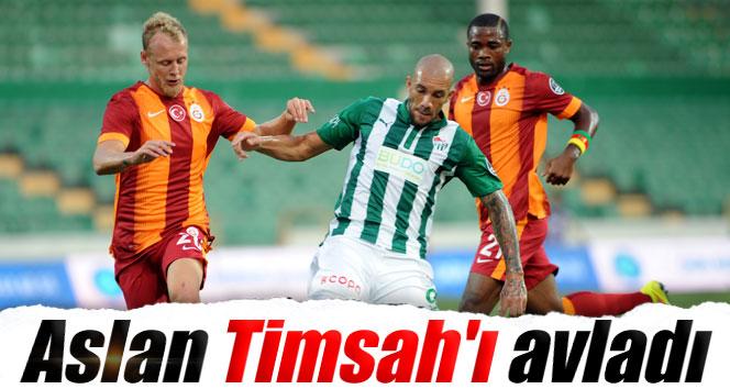 Galatasaray Bursaspor'u 2-0 mağlup etti