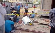 İnşaattan düşen işçi öldü ortalık karıştı