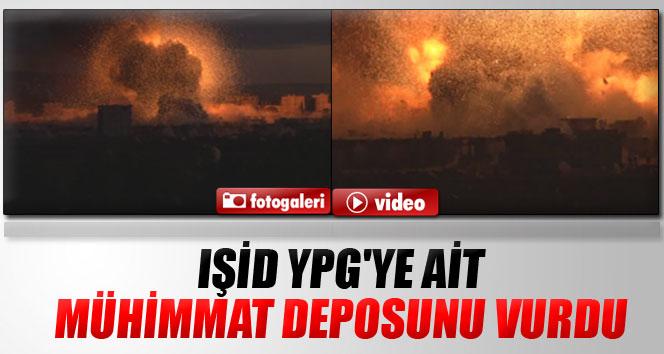 IŞİD YPG'ye ait mühimmat deposunu vurdu
