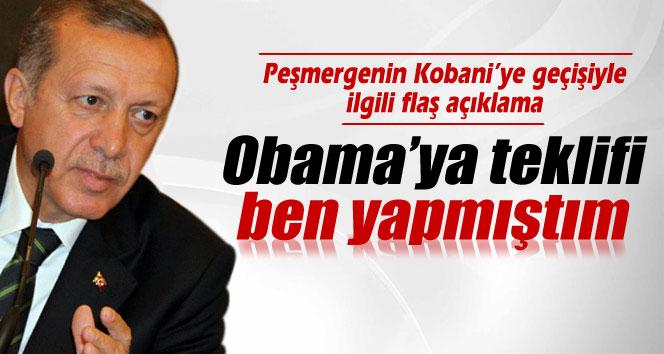 Cumhurbaşkanı Erdoğan: 'Obama'ya teklifi ben yapmıştım'