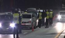 Başkent'te uygulamadan kaçan sürücü kapana yakalandı