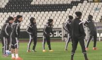 Beşiktaş, Partizan maçının hazırlıklarını tamamladı