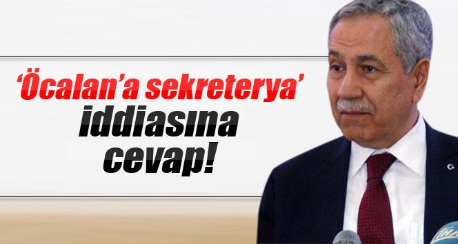 Arınç, 'Öcalan'a sekreterya' iddiasına yanıt verdi