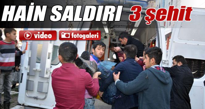 Hakkari'de askere saldırı: 3 şehit