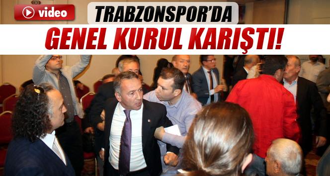 Trabzonspor 33. genel kurulunda gerginlik