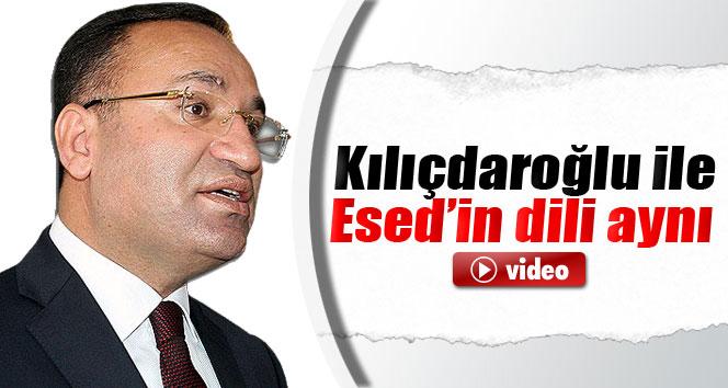Bozdağ: 'Kılıçdaroğlu ile Esed'in dili aynı'
