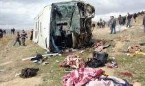 Afyonkarahisar'da feci kaza: 8 ölü