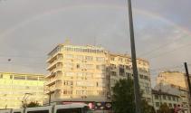 Eskişehir'de gökkuşağı büyüledi