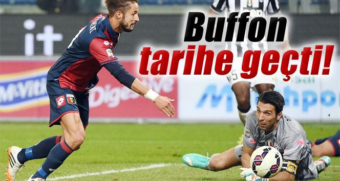 Buffon, Juventus tarihine geçti