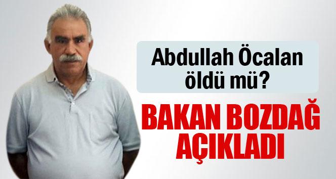Abdullah Öcalan öldü mü? Bakan açıkladı