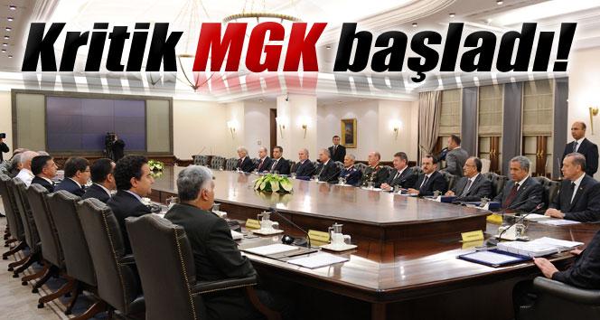 Cumhurbaşkanı Erdoğan'ın başkanlığındaki ilk MGK toplantısı başladı