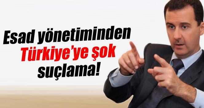 Esad yönetiminden Türkiye'ye şok suçlama!