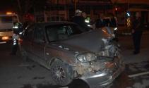 Kaza sonrası kavga çıktı