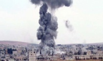 Peşmerge'nin Kobani'ye girişi öncesi hava saldırısı yoğunlaştı