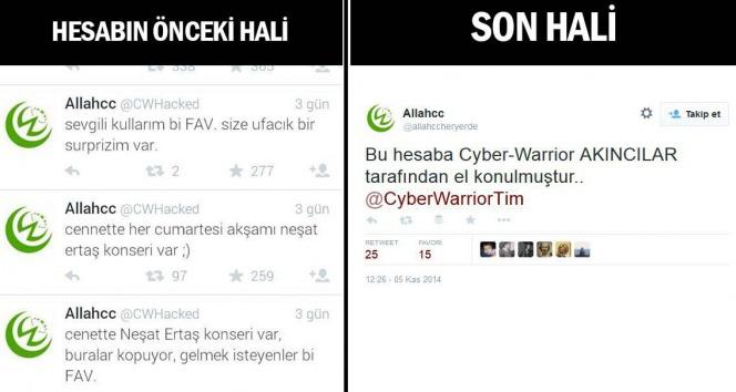 Twitter'da İslam'a hakaret eden bir hesap hacklendi