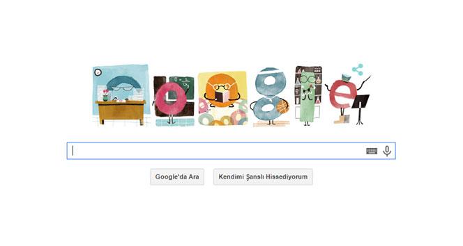 Google'dan Öğretmenler Günü'ne özel doodle24 kasım,24 kasım öğretmenler günü,doodle,google,öğretmenler günü