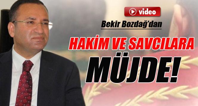 Bakan Bozdağ'dan hakim ve savcı adaylarına müjde!