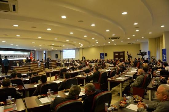 Bursa Büyükşehir Belediyesi'nin 2015 Bütçesi 1.24 Milyar Tl