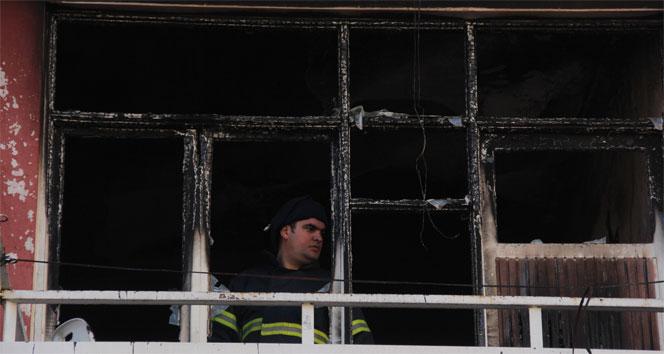 Sığınma evinden misafir olarak geldiği evde 2 çocuğu yanarak öldüadana,çocuk,yangın
