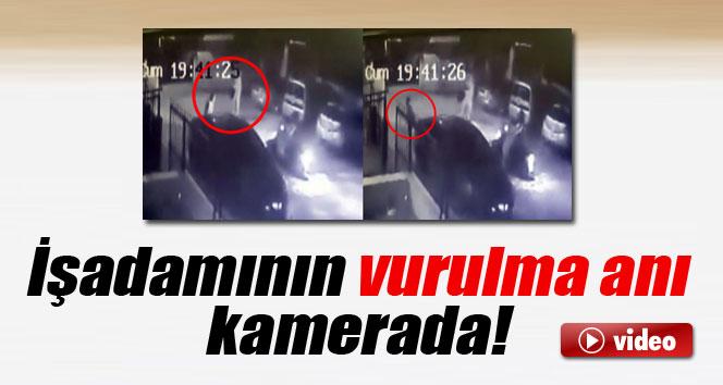İşadamına silahlı saldırı kamerada