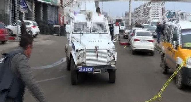 Polise saldırı: 1 polis yaralıdiyarbakır,hırsız,polis