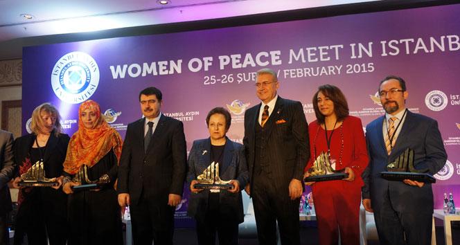 Nobel barış ödüllü kadınlardan Özgecan mesajı