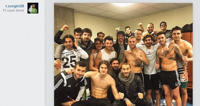 Beşiktaş'tan zafer pozlarıbeşiktaş,zafer pozu