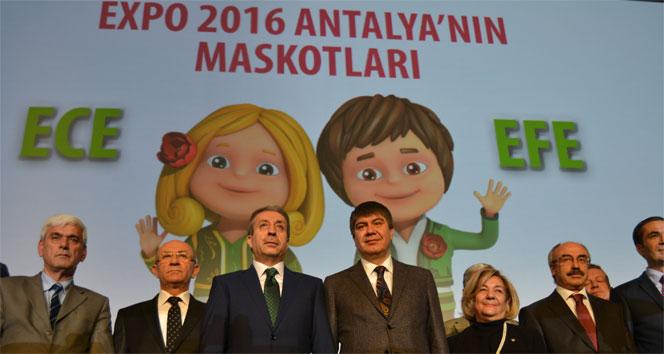 Expo 2016'nın maskotları: 'Ece' ve 'Efe'ece efe,EXPO 2016
