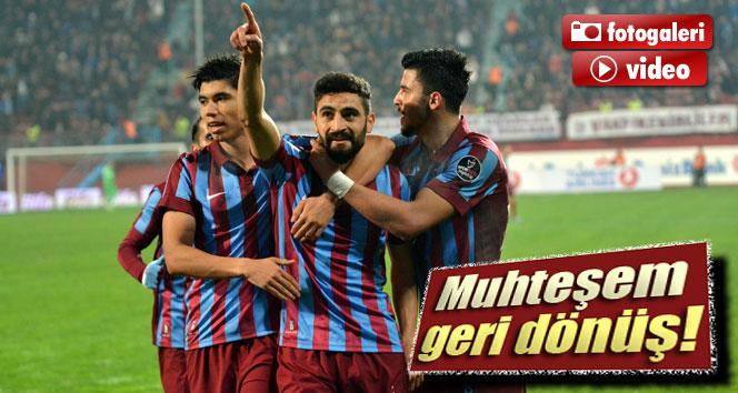 Trabzon'dan muhteşem geri dönüş