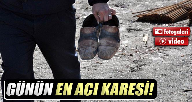 İş ayakkabılarını polis, tabutunu arkadaşları taşıdı