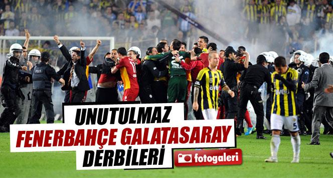 Unutulmaz Fenerbahçe Galatasaray derbileri
