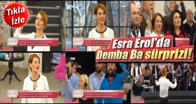 Esra Erol'da Demba Ba sürprizi!
