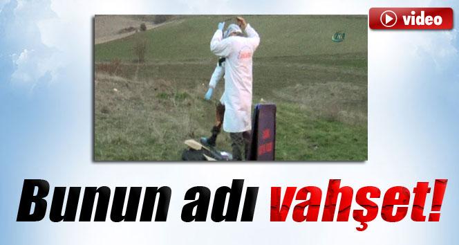 Kırşehir'de parçalanmış ve yanmış ceset bulundu